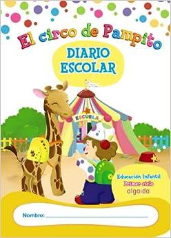 Libro-Agenda/Diario de Clase. El circo de Pampito. 1º Ciclo