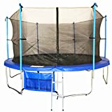 FoxHunter-14FT-Trampoline-Set-Max-Load-200kg-Includes-Safety-Net-Enclosure-worth-4999-All-Weather-Cover-worth-1999-And-Ladder-worth-1999-TUV-GS-EN-71-CE-Certified-RRP-49999-Total-Saving-280-Off-the-Pa