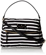 kate spade new york Nylon Stripe Mini Minka Cross-Body Handbag