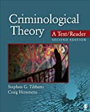img - for Criminological Theory: A Text/Reader book / textbook / text book