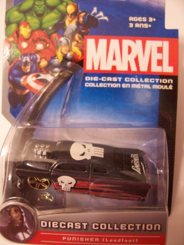 Marvel Universe Die-Cast Collection ~ Punisher (Leadfoot)