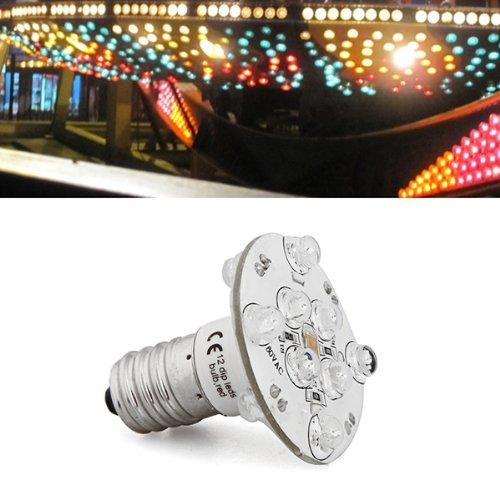 Lampada E14 12 LED Bianco Impermeabile IP55 0.5W AC60V Decorazione Casa