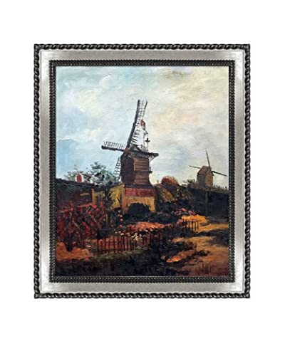 Vincent van Gogh The Mill of Blute End Framed Hand-Painted Oil Reproduction