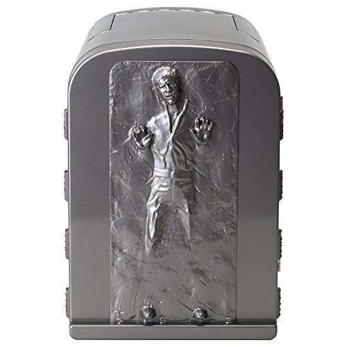 NEW Star Wars Han Solo in Carbonite 3D 4 Liter Thermoelectric Mini Fridge Cooler 4L (Cooler Desk compare prices)