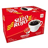 Cafe Sello Rojo K Cups | Best selling coffee brand in Colombia | 100% Colombian medium roast ground arabica coffee | 12 Keurig compatible single serve coffee pods (Tamaño: 12-Pack)