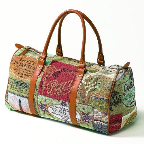 sander gobelin kleine reisetasche tasche weekend reisebedarf reisebuchen. Black Bedroom Furniture Sets. Home Design Ideas