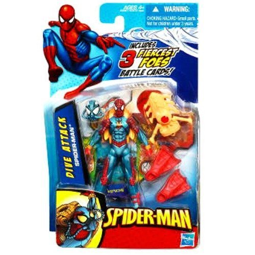 Spider-Man 3 Inch Dive Attack Spider-Man Action Figure