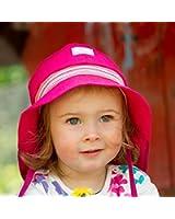 PICKAPOOH Baby/Kinder Sonnenhut Feuerwehr aus Bio-Baumwolle