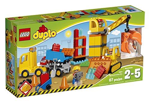 LEGO DUPLO Town 10813 Big Construction Site Building Kit (67 Piece)
