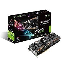 ASUSTek R.O.G. STRIXシリーズ NVIDIA GeForce GTX1060搭載ビデオカード オーバークロック メモリ6GB STRIX-GTX1060-O6G-GAMING