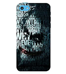 PRINTSWAG TYPOGRAPHY Designer Back Cover Case for APPLE IPHONE5C