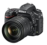 Nikon D750 SLR-Digitalkamera (24,3 Megapixel, 8,1 cm (3,2 Zoll) Display, HDMI, USB 2.0) Kit inkl. AF-S Nikkor 24-120 mm 1:4G ED VR Objektiv schwarz -