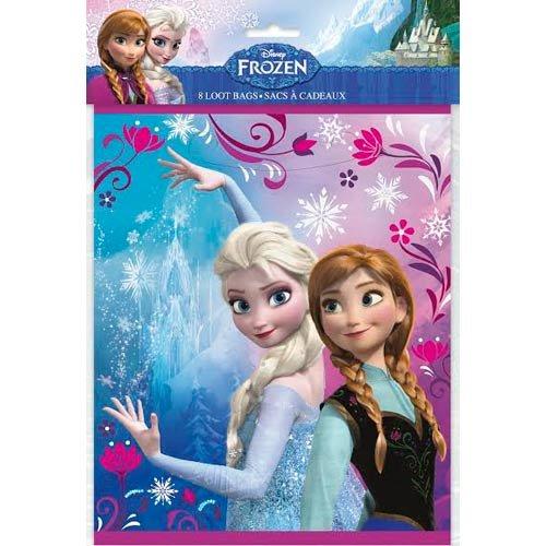 Disney Frozen Loot Bags [8 Loots Per Pack] - 1