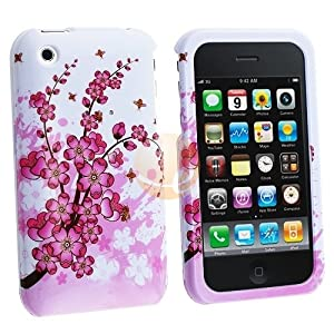 Spring Flower Clip-on Case for Apple iPhone 3G / Apple iPhone 3GS by eForCity