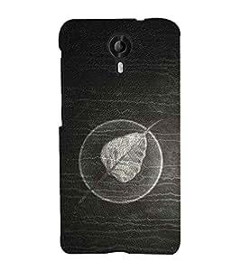 99Sublimation Fallen Leaf 3D Hard Polycarbonate Back Case Cover for Micromax Canvas Nitro 4G E455