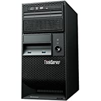 Lenovo ThinkServer TS140 70A4 Tower Server with Intel Core i3-4150 / 4GB (Black)