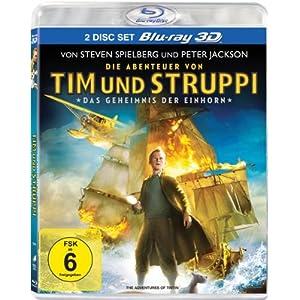 Die Abenteuer von Tim & Struppi - Das Geheimnis der Einhorn (3D-Version, 2 Disc-Set) [3D Blu-ray]