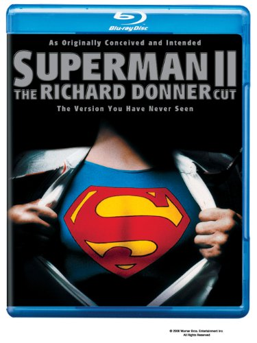 Blu-ray : Superman 2 (Director's Cut / Edition, Widescreen, , Dolby, AC-3)