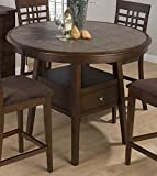 Fixed Terra Tile Dining Table
