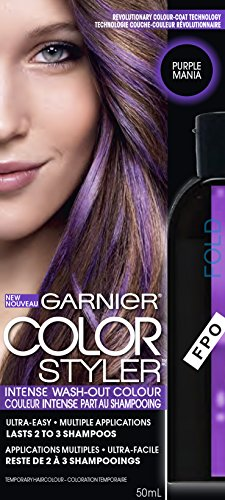 Garnier Hair Color Color Styler Intense Wash-Out Color, Purple Mania (Pop Color Hair compare prices)