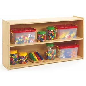 Value Line Preschool Two Shelf Storage