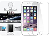 Apple iPhone 6 [4.7] Ultra Tempered Glass Screen Protector -Slim Anti Scratch Shield w/ Full HD Clarity -Better Cell Phone Accessories by InvisiShell
