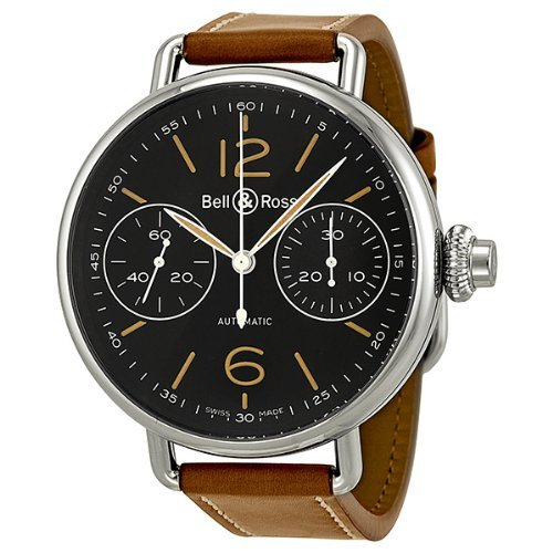 Bell and Ross Monopoussoir Heritage Mens Watch RBRWW1-MONO-HER