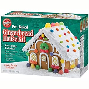 Wilton Gingerbread House Kit Food