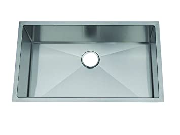 Frigidaire FGUR3219-D9 Gallery 18 304-Gauge Stainless Steel 32-Inch X 19-Inch Single Bowl Undermount Kitchen Sink