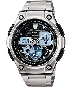 Casio General Men's Watches Digital-Analog Combination with 10 Year Battery Life AQ-190WD-1AVDF - WW