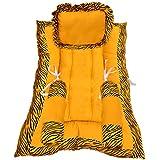 Get IT Dual Pattern Baby Sleeping Bed Set (Yellow)