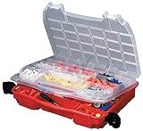 Plano Molding 5231 Double Cover Stow N Go Organizer, Porsche Red