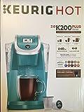 Keurig 2.0 K200 Plus Series Single Serve Plus Coffee Maker Brewer (Newest Model) Turquoise