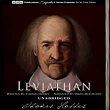 Leviathan Audiobook by Thomas Hobbes Narrated by David McCallion