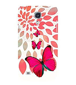 PRINTSWAG BUTTERFLY Designer Back Cover Case for SAMSUNG GALAXY S4 MINI