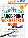 The Everything Large-Print Word Searc...
