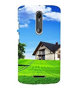 EPICCASE Farm House Mobile Back Case Cover For Moto X 3rd Gen (Designer Case)