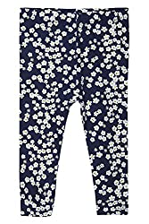 Chirpie Pie by Pantaloons Girl's Regular Fit Legging (205000005610375, Blue, 6 - 9 Months)