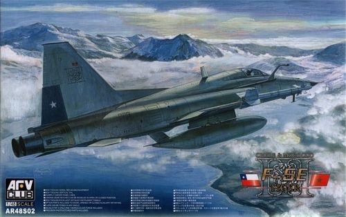 AFV Club 1:48 - F5-E Tiger II Chile - AFVAR48S02