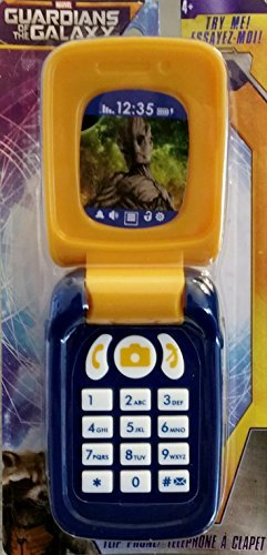 "Marvel's ""Guardians of the Galaxy"" Toy Flip Phone - 1"