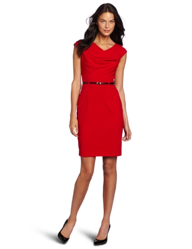Calvin Klein Women's Cowl Dress