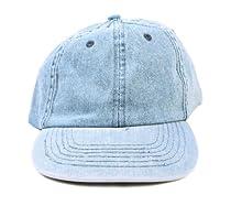 Simplicity Youth / Adult Adjustable Strap Plain Denim Baseball Caps