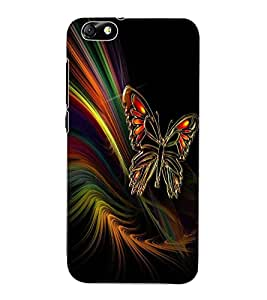 ColourCraft Lovely Butterfly Design Back Case Cover for HUAWEI HONOR 4X