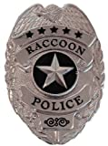 Resident Evil Raccoon Police Prop Badge