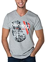 Geographical Norway Camiseta Manga Corta Snht (Gris)