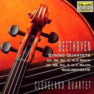 Beethoven: String Quartets, Op.59, No. 2 & 3