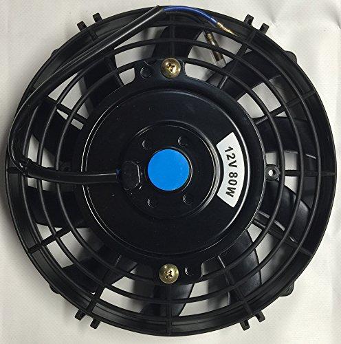 12v Blower Fan 500 Cfm : Pro comp quot inch electric auto cooling fan volt curved
