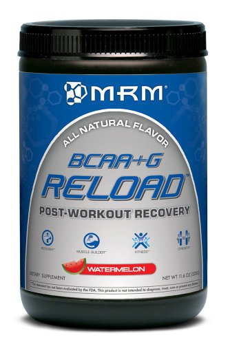 MRM BCAA +G Reload Post-Workout Recovery, Watermelon, 330 Gram