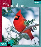 Audubon Birds: Winter Cardinal 500 Piece...