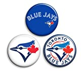 Toronto Blue Jays Pins Pinback Buttons or Magnets 3-pack MLB at Amazon.com